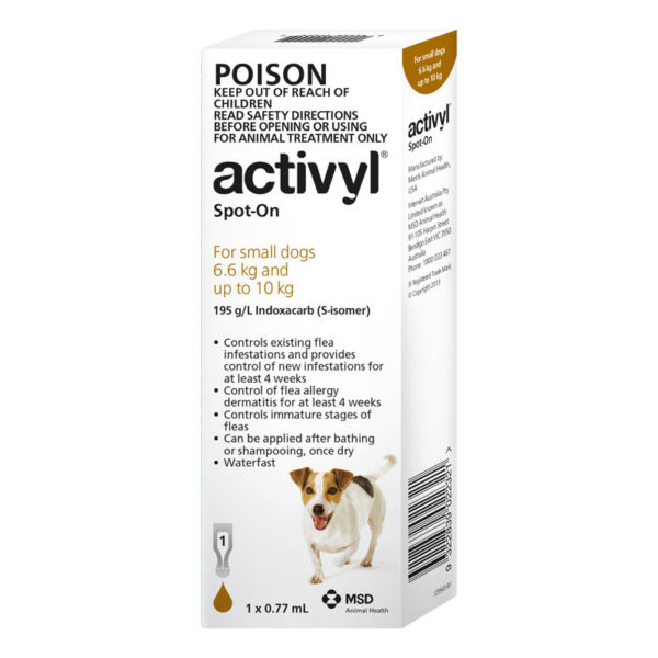 Activyl Brown Spot-On for Small Dogs - Single 1