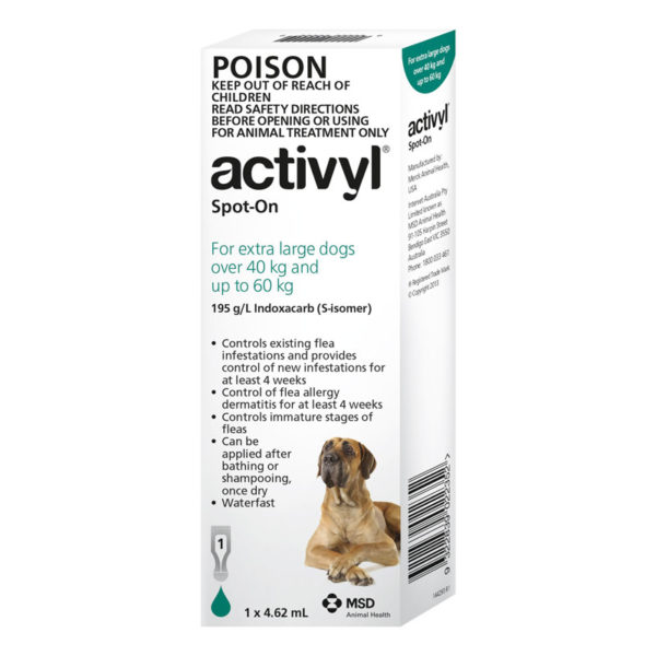 Activyl Green Spot-On for Very Large Dogs - Single 1