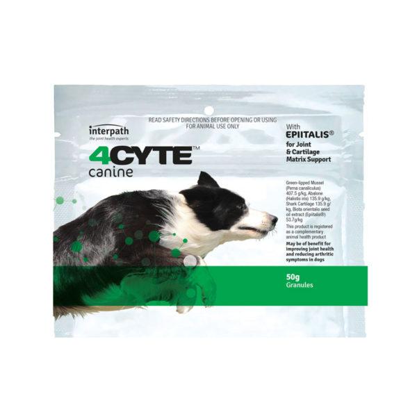 4CYTE Dog Joint Supplement Granules 50g Sachet 1