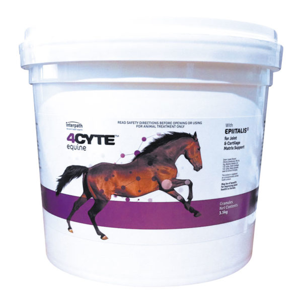 4CYTE Horse Joint Supplement Granules 3.5kg Pail 1