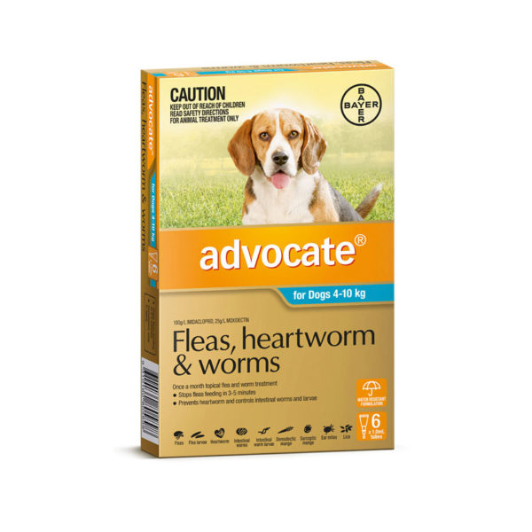 Advocate Aqua Spot-On for Medium Dogs - 6 Pack 1