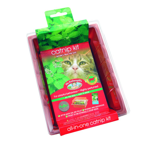Mr. Fothergill's Catnip Seed Raiser Kit 1