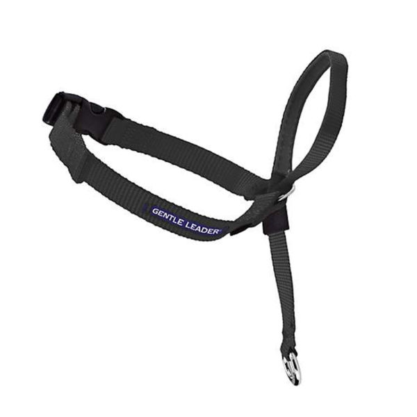 Gentle Leader Black Headcollar - Large 1
