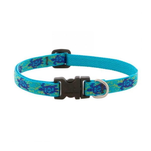 "Lupine Turtle Reef Large Dog Collar 12-20"" 1"