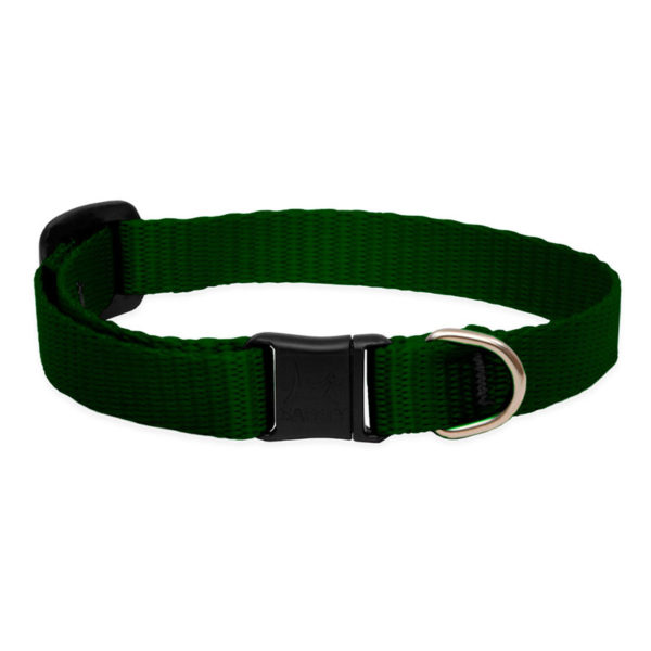 Lupine Green Safety Cat Collar 1