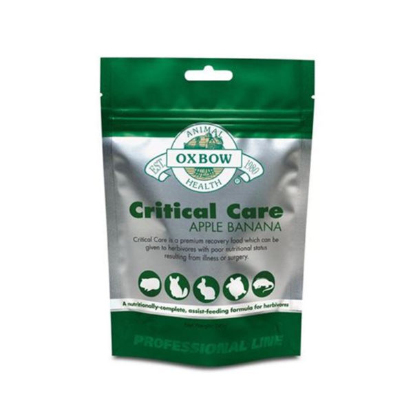 Critical Care for Herbivores Apple & Banana 454g 1