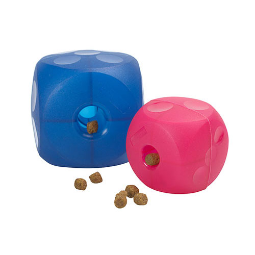 Buster Magenta Red Soft Mini Cube for Dogs 1