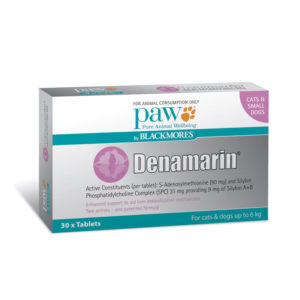 PAW Denamarin 90mg for Cats & Small Dogs - 30 Pack 1