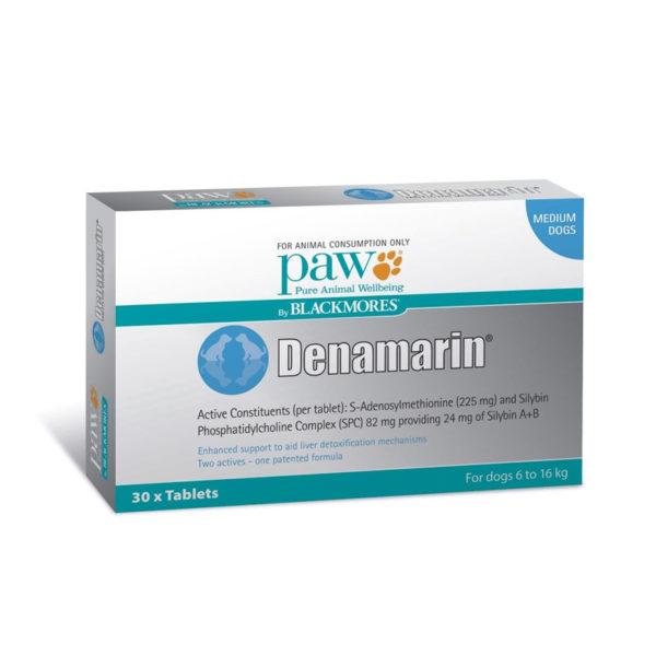 PAW Denamarin 225mg for Medium Dogs - 30 Pack 1