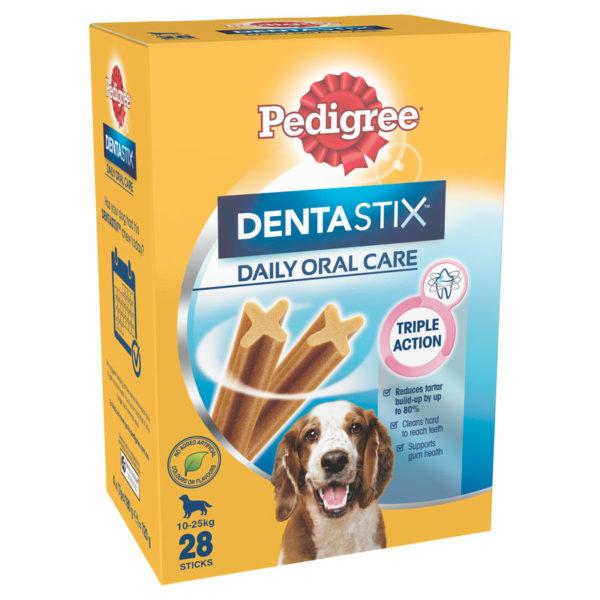 Pedigree DentaStix Dental Treats for Medium Dogs - 28 Pack 1