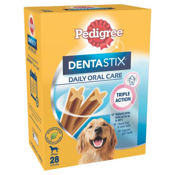 Pedigree DentaStix Dental Treats for Large Dogs - 28 Pack 1