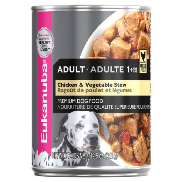Eukanuba Adult Dog Chicken & Vegetable Stew 354g x 12 cans 1
