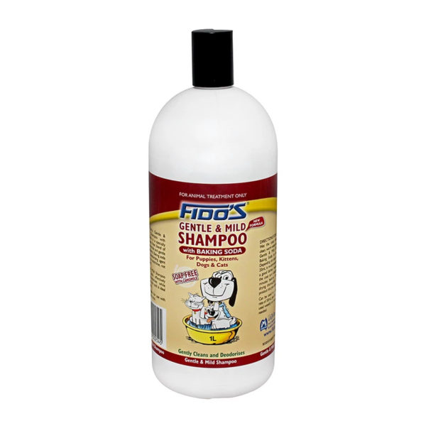 Fido's Gentle and Mild Shampoo with Baking Soda 1L 1