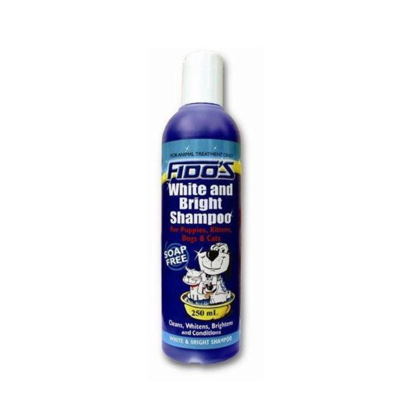 Fido's White and Bright Shampoo 250ml 1