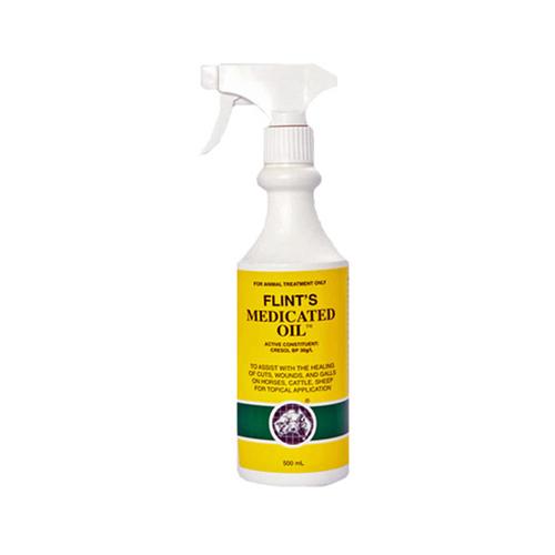 Flint's Medicated Oil 500ml 1