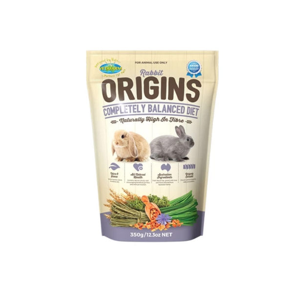 Vetafarm Rabbit Origins Food 350g 1