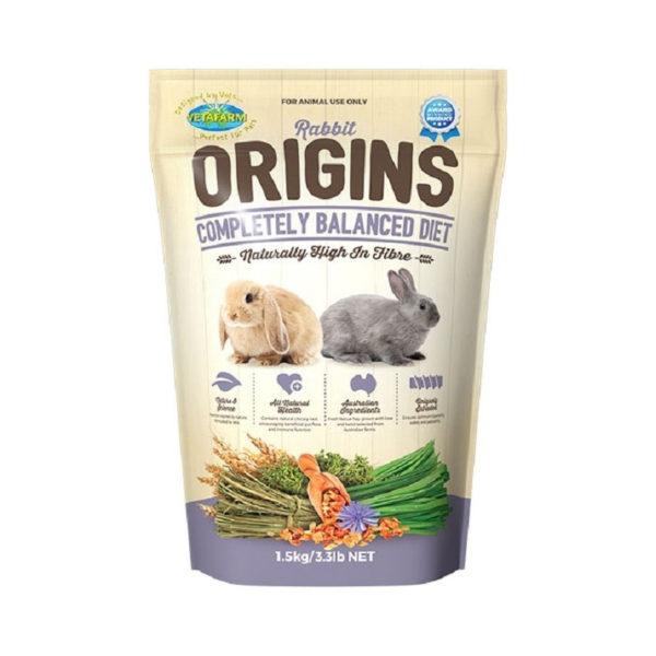 Vetafarm Rabbit Origins Food 1.5kg 1