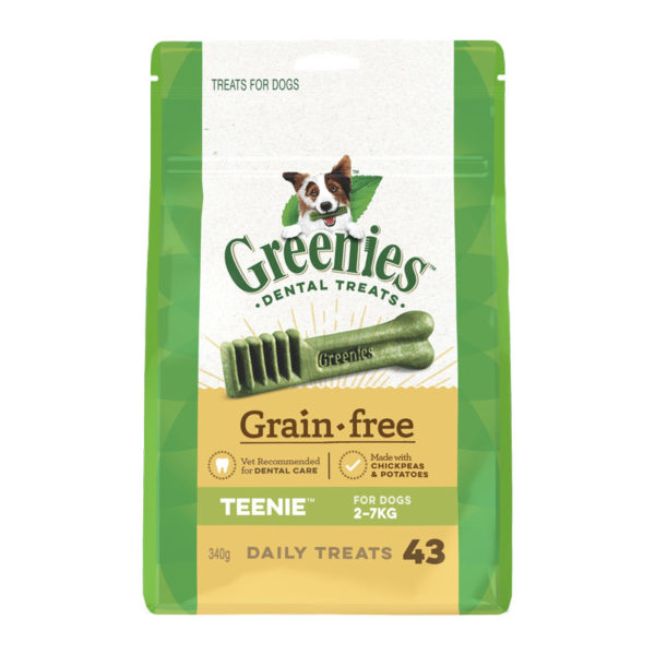 Greenies Grain Free Teenie Dental Treats for Dogs - 43 Pack 1