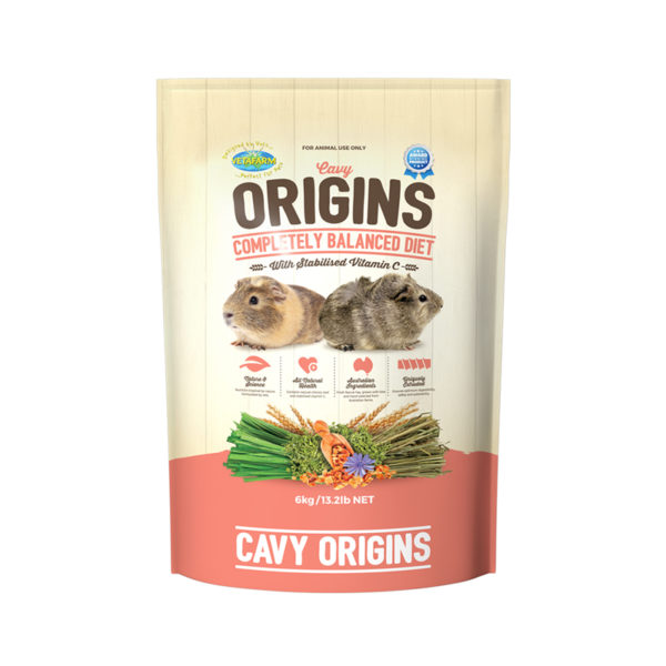 Vetafarm Cavy Origins Guinea Pig Food 6kg 1
