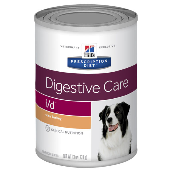 Hills Prescription Diet Canine i/d Digestive Care with Turkey 370g x 12 Cans 1