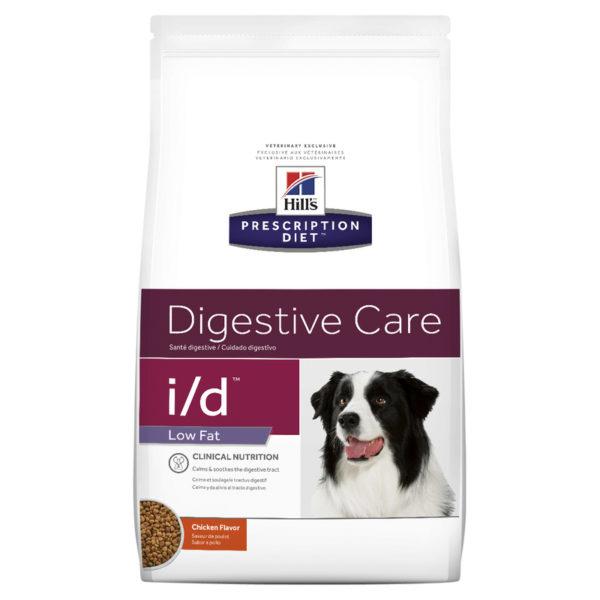 Hills Prescription Diet Canine i/d Digestive Care/GI Restore Low Fat 3.85kg 1