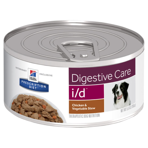 Hills Prescription Diet Canine i/d Digestive Care Chicken & Vegetable Stew 156g x 24 Cans 1