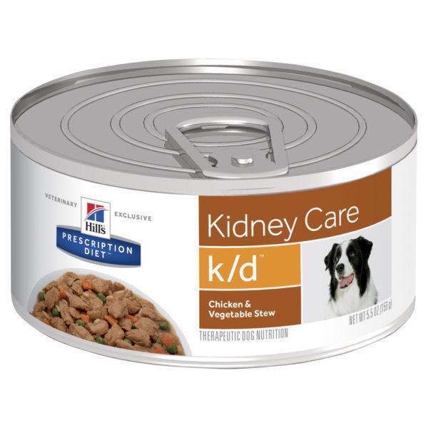 Hills Prescription Diet Canine k/d Kidney Care Chicken & Vegetable Stew 156g x 24 Cans 1
