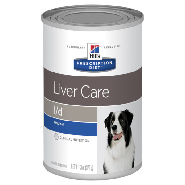 Hills Prescription Diet Canine l/d Liver Care Original Flavour 370g x 12 Cans 1
