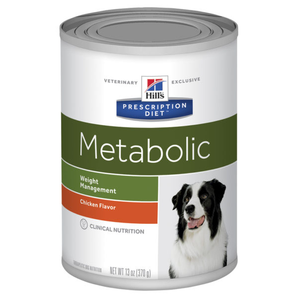 Hills Prescription Diet Canine Metabolic Chicken Flavour 370g x 12 Cans 1