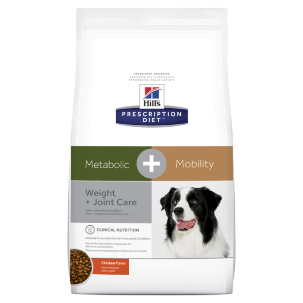 Hills Prescription Diet Canine Metabolic + Mobility 3.86kg 1
