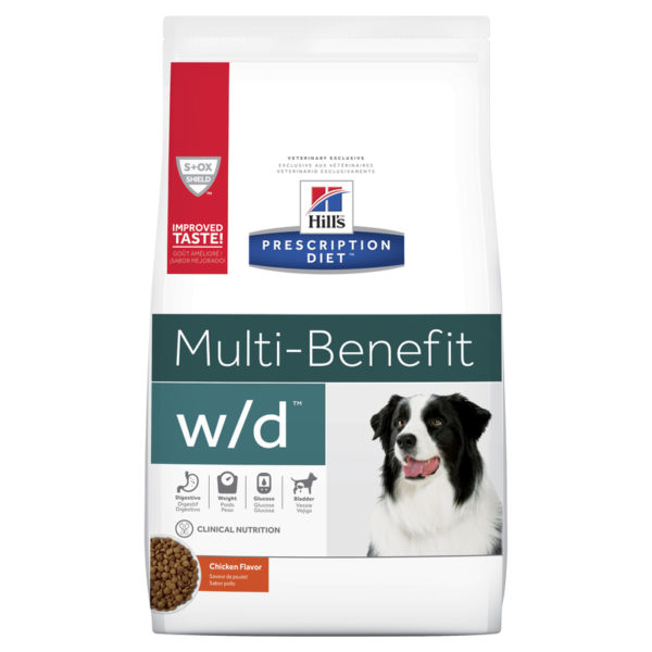 Hills Prescription Diet Canine w/d Multi-Benefit 3.85kg 1