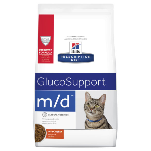 Hills Prescription Diet Feline m/d GlucoSupport 1.8kg 1