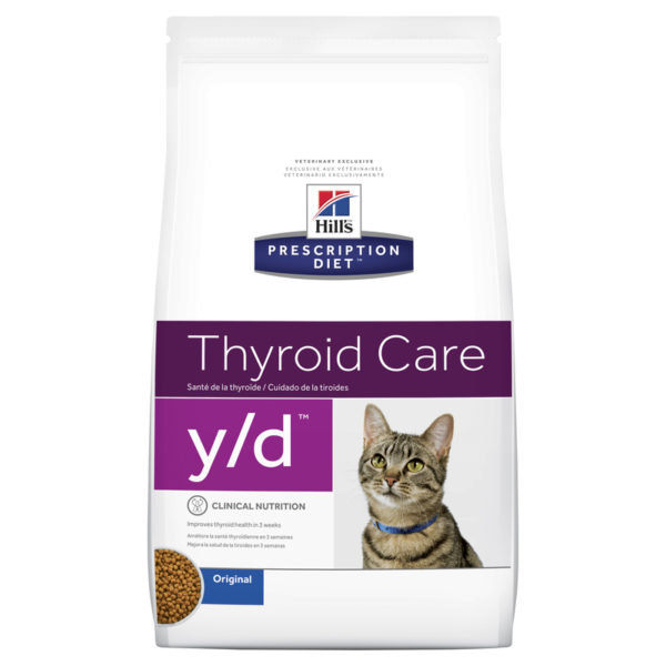 Hills Prescription Diet Feline y/d Thyroid Care 1.8kg 1