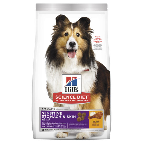 Hills Science Diet Adult Dog Sensitive Stomach & Skin 12kg 1