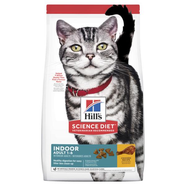 Hills Science Diet Adult Indoor Cat 2kg 1
