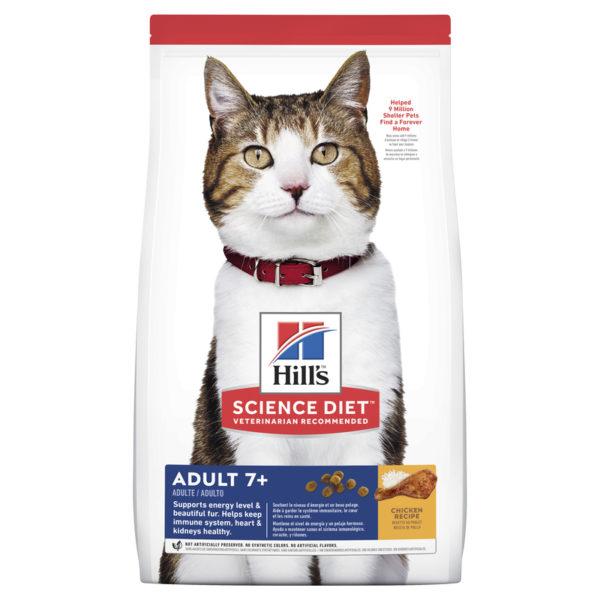 Hills Science Diet Adult Cat 7+ Chicken Recipe 1.5kg 1