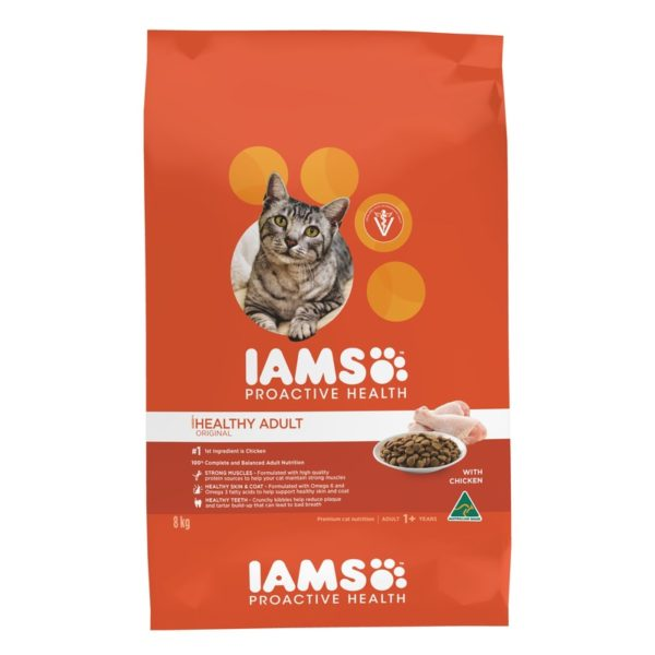 IAMS Adult Cat Chicken 8kg 1