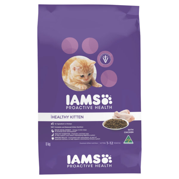 IAMS Kitten Chicken 8kg 1
