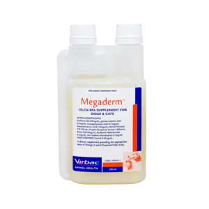 Megaderm Omega 3 & 6 for Dogs and Cats 250ml 1