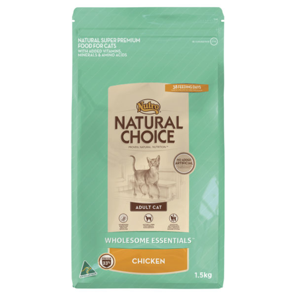 Nutro Wholesome Essentials Adult Cat Chicken 1.5kg 1