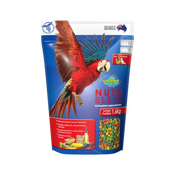 Vetafarm Nutriblend Large Parrot Pellets 1.5kg 1