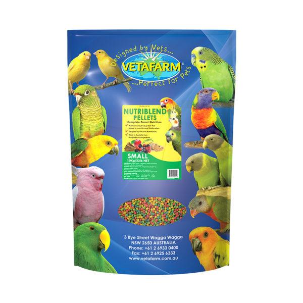 Vetafarm Nutriblend Small Parrot Pellets 10kg 1