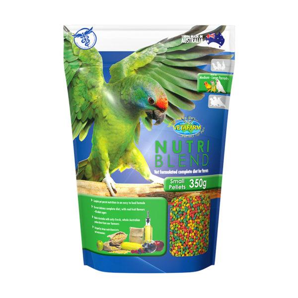 Vetafarm Nutriblend Small Parrot Pellets 350g 1