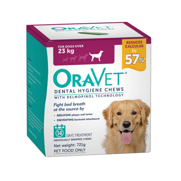 OraVet Dental Chews for Large Dogs - 14 Pack 1