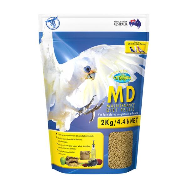 Vetafarm Parrot Maintenance Diet Pellets 2kg 1