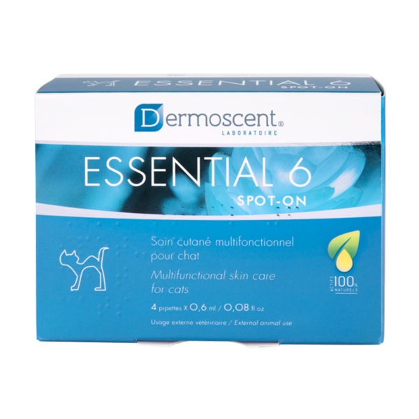 Dermoscent Essential 6 Spot On for Cats - 4 Pack 1