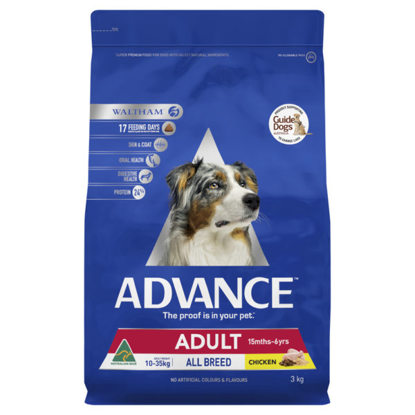Advance Adult Dog Total Wellbeing All Breed Chicken 15kg 1