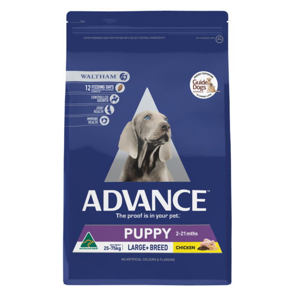 Advance Puppy Plus Growth Large+ Breed Chicken 15kg 1