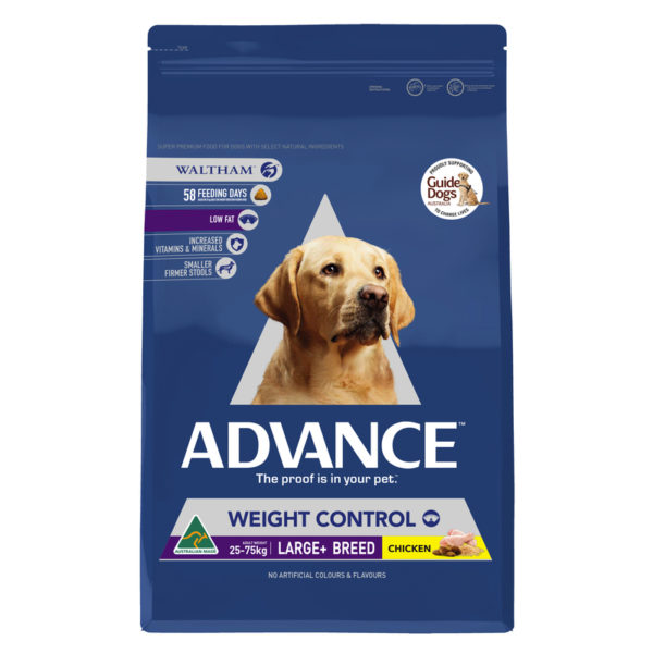 Advance Adult Dog Weight Control Large+ Breed 13kg 1