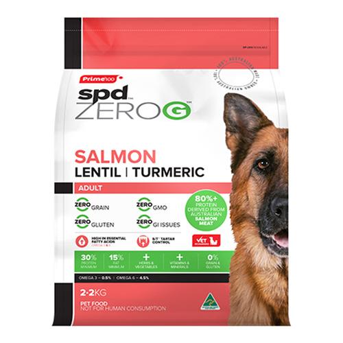Prime100 SPD ZeroG Adult Dog Salmon